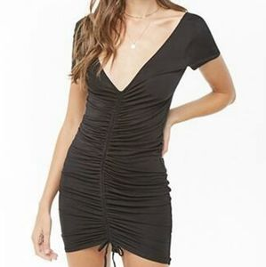 4) Heart&Hips mini dress tunic ruched convertible